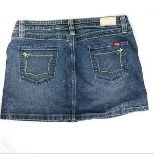 Vigoss Skirts - Miss Vigoss Med wash denim mini skirt size 11/12